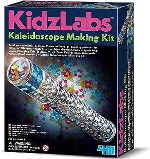 4M 3435 Fun Science Kidz Labs / Kaleidoscope Making Kit Educational Toys