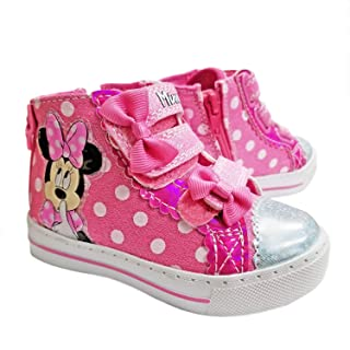 Disney Minnie Mouse Polka Dot Light-Up Sneaker