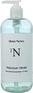 Glosso Factory Aquarium Plant Fertilizer Potassium Nitrate KNO3 16oz for Index Method dosing