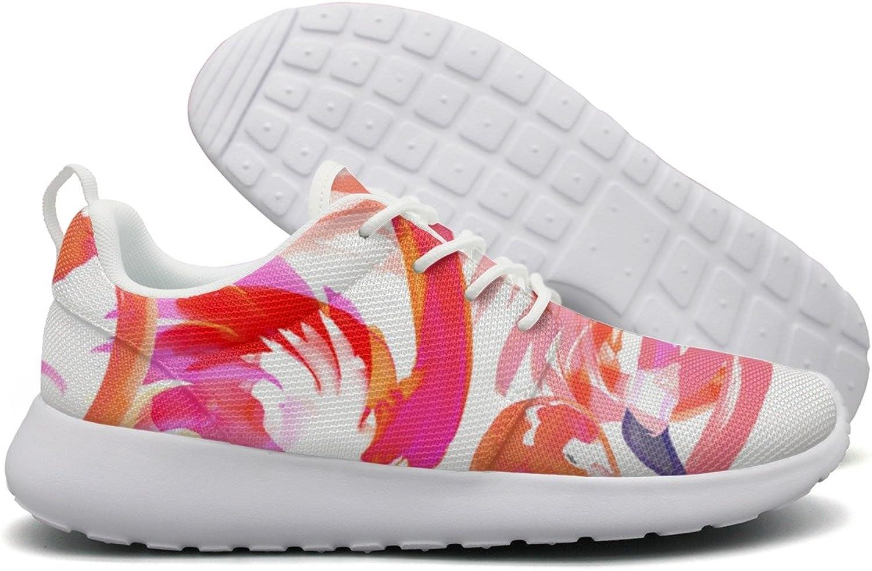 Flamingo Red Pink Womens Flex Mesh Women Casual shoes