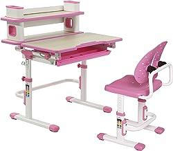Kids Standing Desk Ergonomic Sit Stand for Kids Pink