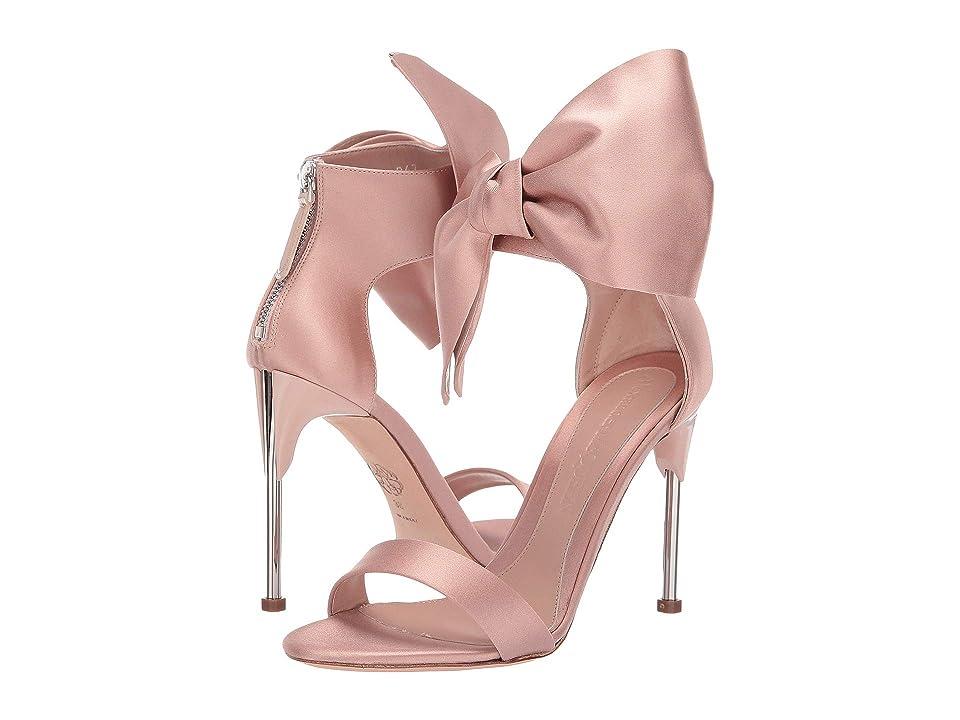 Alexander McQueen Bow Sandal (Peonia/Silver) Women