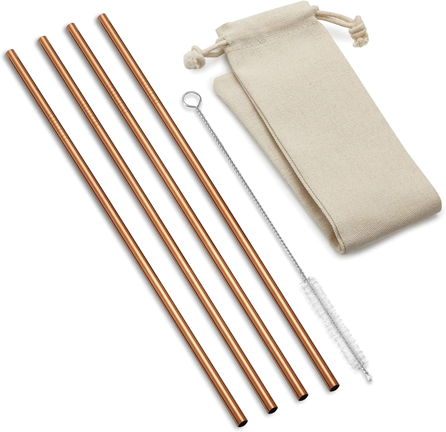 Ranking TOP6 Outset Copper Straight Long Reusable Straws Special price for a limited time 11.75 inc x 3.5 1