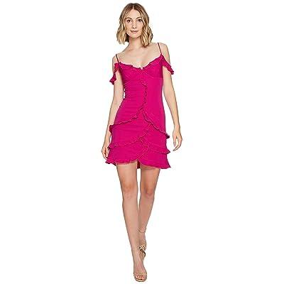 Nicole Miller Stella Party Dress (Very Berry) Women