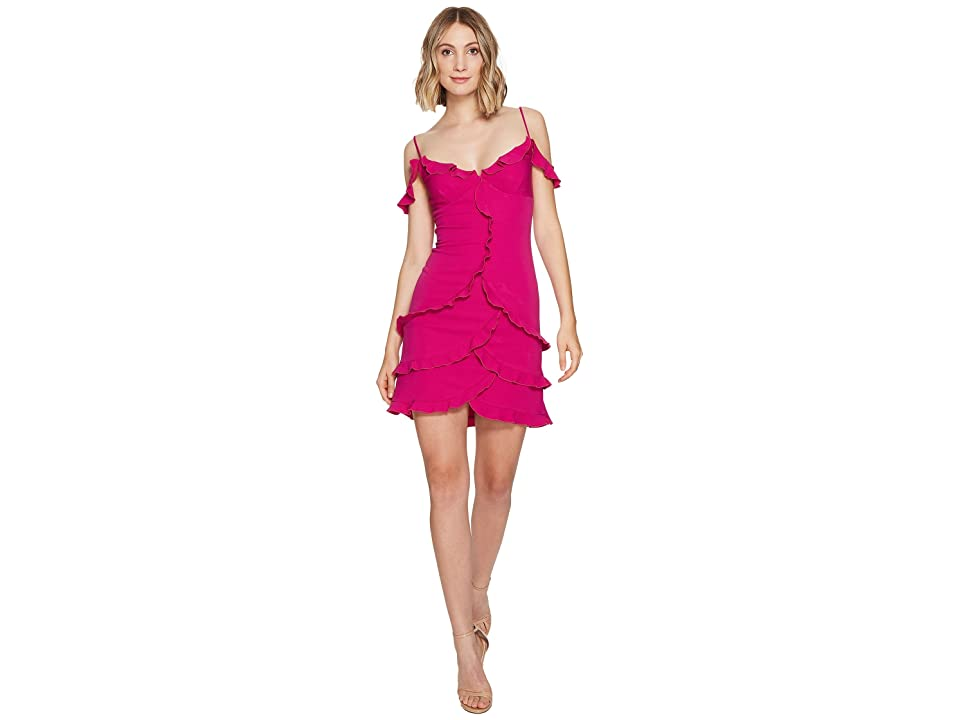 Nicole Miller Stella Party Dress (Very Berry) Women