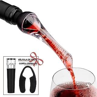 Mafiti Decantador Aireador de Vino Profesional. Elegante y