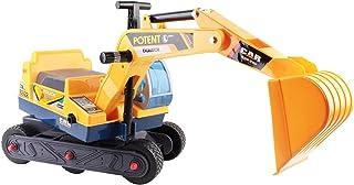 Keezi Kids Ride On Car Sand Excavator Toy Car with Helmet