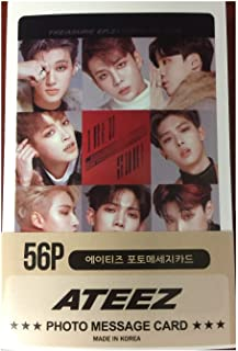 Ateez Mini Post Card Photocards (56pcs)