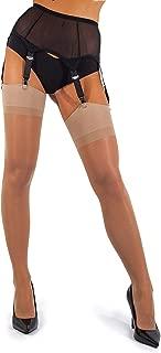 Mesh Garter Belt with Straps for Stockings/Lingerie (Garter Belt Sold Separately from Stockings)