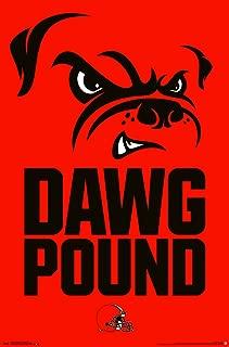 Trends International Cleveland Browns-Dog Pound Premium Wall Poster, 22.375