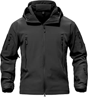 Men's Special Ops Military Tactical Soft Shell Jacket Coat