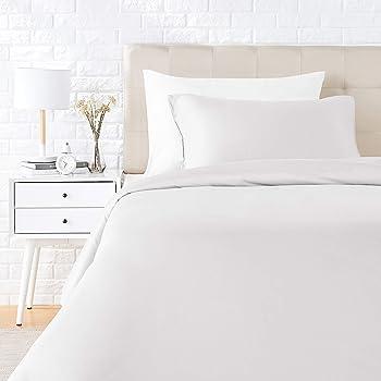 s/ábana bajera y 2 fundas de almohada Ropa de cama Silver Satin individual Tama/ño Funda n/órdica