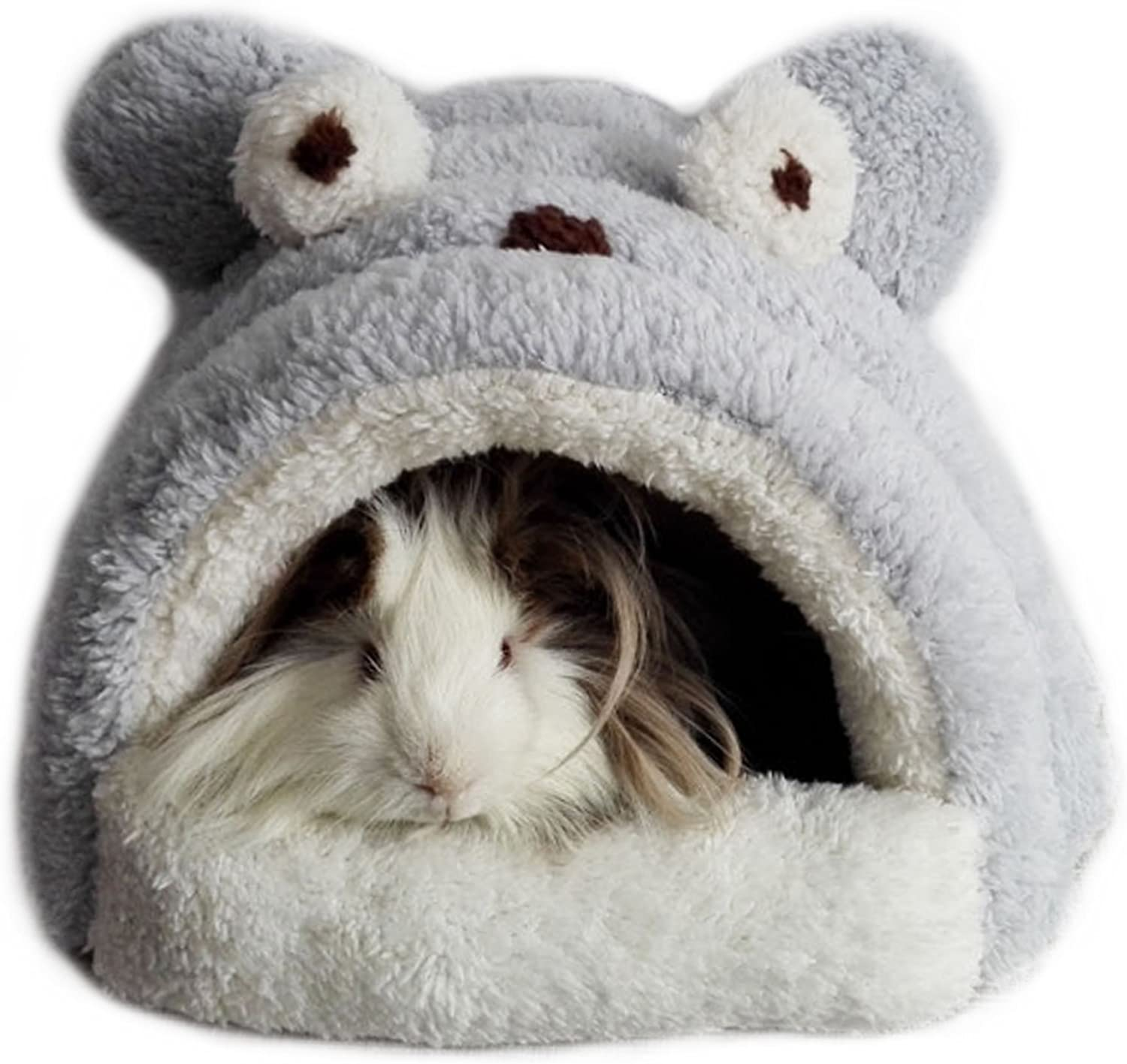 Alfie Pet  Tobin Sleeping Cave Bed for Small Animals Like Dwarf Hamster and Mouse  color  Grey
