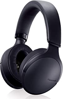 Panasonic Premium Hi-Res Wireless Bluetooth Over The Ear Headphones with 3D Ear Pads and 3 Sound Modes - RP-HD305B-K (Black)