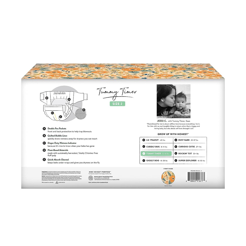 Club Box Clean Conscious Diapers Fall Seasonal, Prairie Petals, Size 2, 76ct