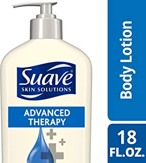 Suave Skin Solutions Body Lotion, Advanced Therapy 18 oz (Pack of 6)