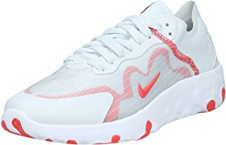 Nike Renew Lucent, Women's Athletic & Outdoor Shoes, Multicolour (Photon Dust/Track Red-White-Grey Fog), 36.5 EU