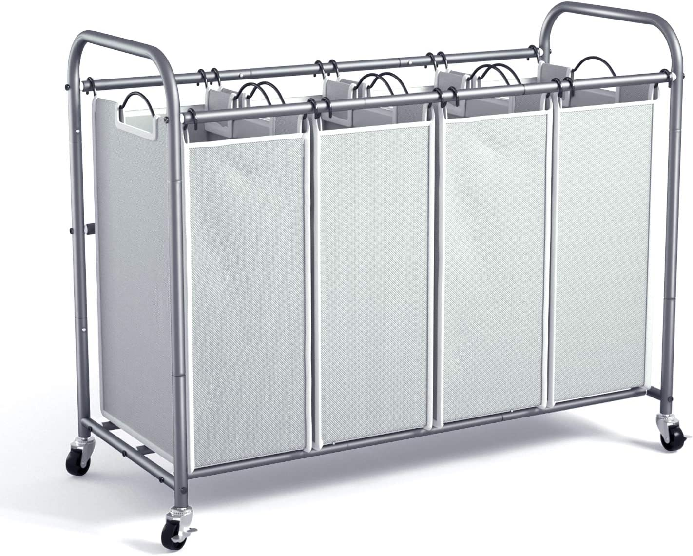 ROMOON 4 Super beauty product restock quality Sales for sale top Bag Laundry Sorter with Hamper Hea Cart