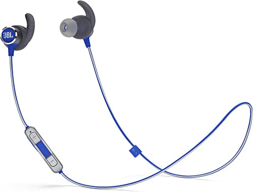 new arrival JBL Reflect Mini 2 Wireless in-Ear Sport Headphones with Three-Button Remote popular discount and Microphone - Blue online