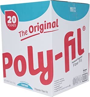 Fairfield The Original Poly-Fil Premium Box, 20 lb, White