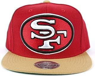 Mitchell & Ness Men's San Francisco 49ers XL 2 Tone Snapback