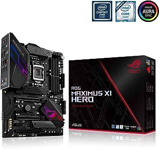 ASUS ROG Maximus XI Hero - Placa Base Gaming ATX Intel de 8a y 9a Gen Z390 LGA 1151 con disipador M.2, Iluminación LED Aura Sync RGB, DDR4 4400, Dos M.2, SATA 6 GB/s, Audio Gaming y USB 3.1 Gen. 2