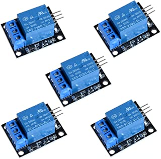 Anmbest 5PCS KY-019 One Channel 5V Relay Module Board Shield for PIC AVR DSP ARM IoT Official Arduino Board