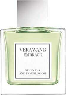 Vera Wang Embrace Eau de Toilette Spray for Women, Green Tea & Pear Blossom, 1 Fl Oz