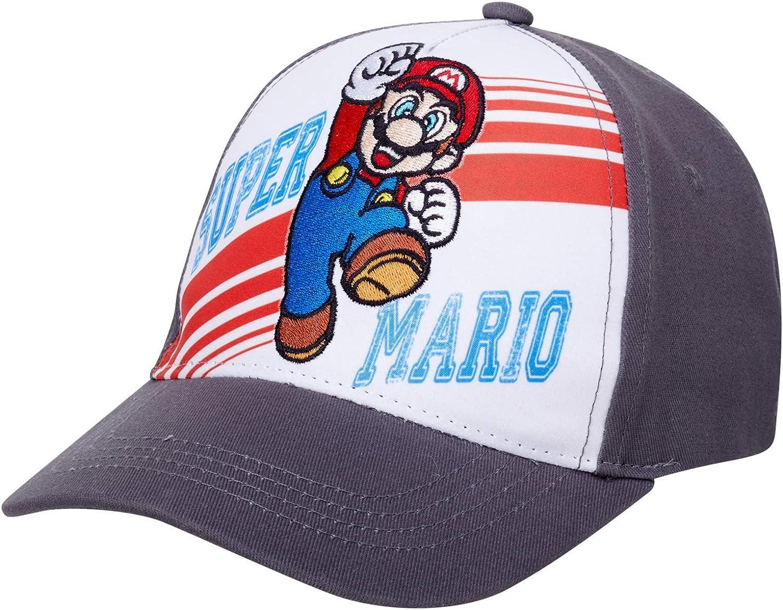 Nintendo Boys Super Mario Cotton New color Tampa Mall 4-7 Size Cap Baseball
