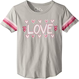 Soft Vintage Jersey Love Tee (Little Kids/Big Kids)