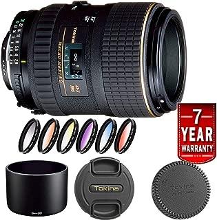 Tokina 100mm f/2.8 at-X M100 AF Pro D Macro Autofocus Lens (Canon Kit)