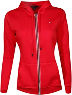 tommy hilfiger fleece hoodie women's