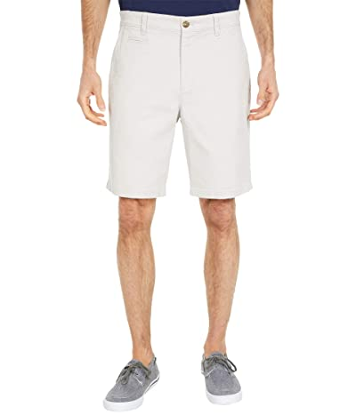 johnnie-O Neal Stretch Twill Shorts (Nimbus Grey) Men