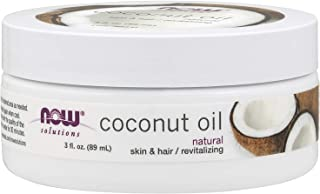 NOW Solutions Coconut Oil, 3 oz.