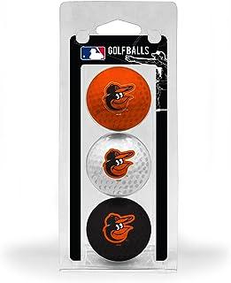 تیم تنظیم اندازه گلف MLB اندازه توپ های گلف ، 3 بسته ، اثر پر رنگ تیم با دوام کامل