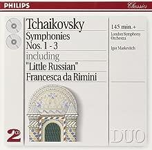 Best tchaikovsky symphonies markevitch Reviews