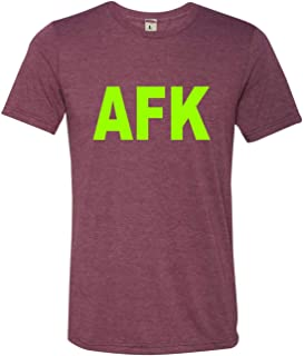 Go All Out Adult Away from Keyboard AFK Funny Gamer PC Gaming Triblend T-Shirt