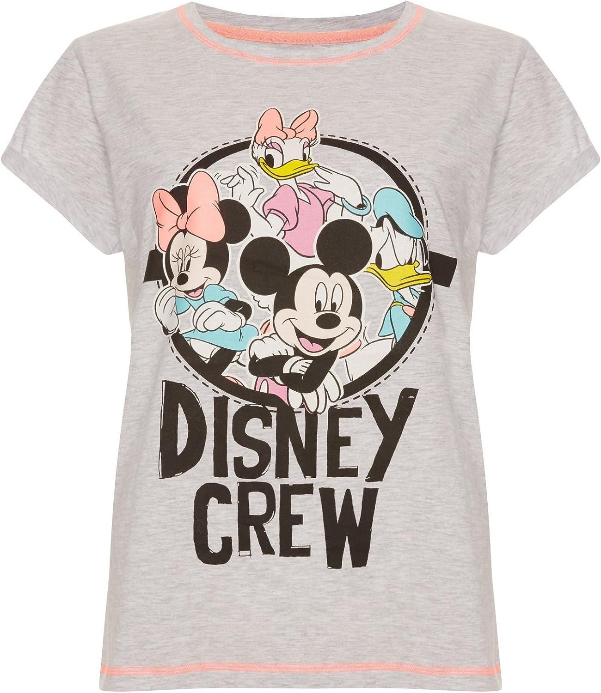 DISNEY BY PRIMARK - Camiseta - para mujer Gris gris S: Amazon ...