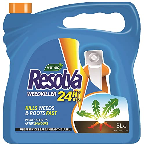 Resolva 24H Ready To Use Weed Killer, 3 Litre