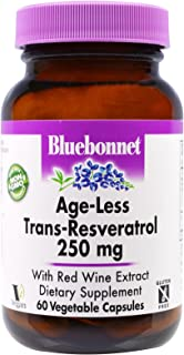 Bluebonnet - Age-Less Trans-Resveratrol 250mg 60vcap