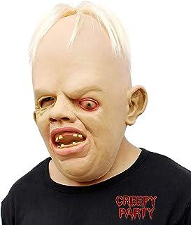 CreepyParty Fiesta de Disfraces de Halloween Máscara de Cabeza de Látex Goonies Sloth