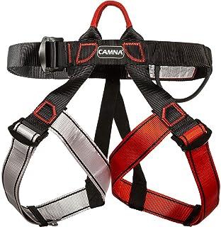 HPDOE Arnes Escalada Protección contra caídas cinturón arnés cinturón certificación CE montañismo Escalada árbol Escalada Bombero al Aire Libre,BLCE-02