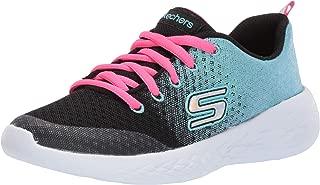 Kids Girls' GO Run 600-SPARKLE Speed Sneaker Black/Blue 11 Medium US Little Kid