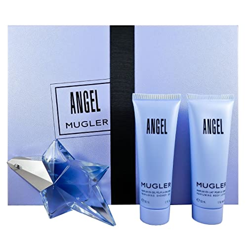 56b75372f Thierry Mugler 3 Piece Refillable Angel Gift Set Eau de Parfum Spray for  Women