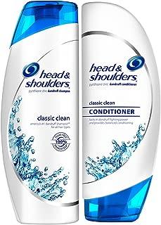 Head & Shoulders Classic Clean Bundle: Dandruff Shampoo & Conditioner, 13.5 Ounce Each
