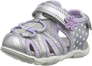 Geox B Sandal Agasim Girl E, Bout Ouvert Fille