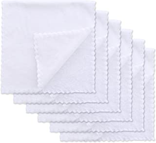 6 Pack Softest Burp Cloths - Extra Thicken Absorbent and Exquisite Newborn Burp Rags - Suitable...