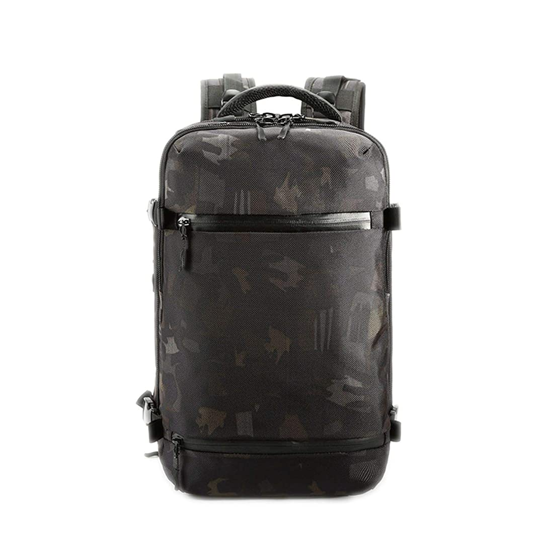 Men Travel Luggage Backpack USB Large Capacity Multifunctional Waterproof Women,Camouflage,17 Inches