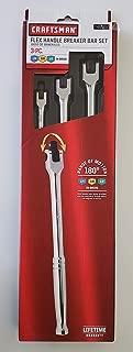 Craftsman 3 pc. Flex Handle Breaker Bar Set 1/4
