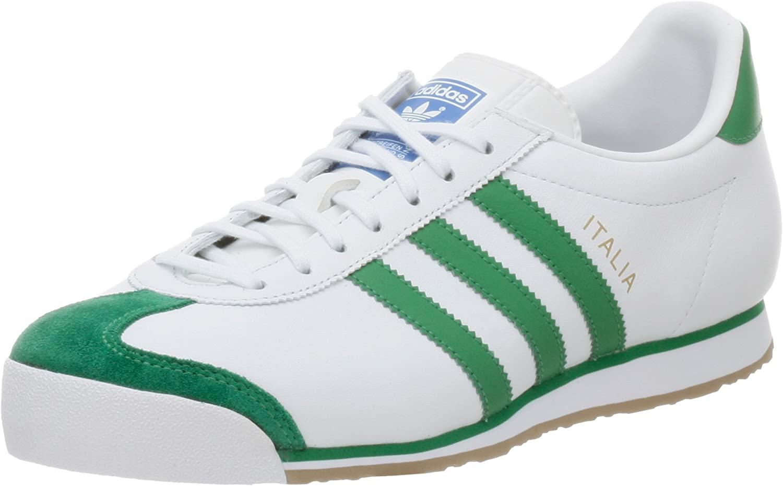 Amazon.com: adidas Originals Men's Italia 74 Training Shoe,White ...